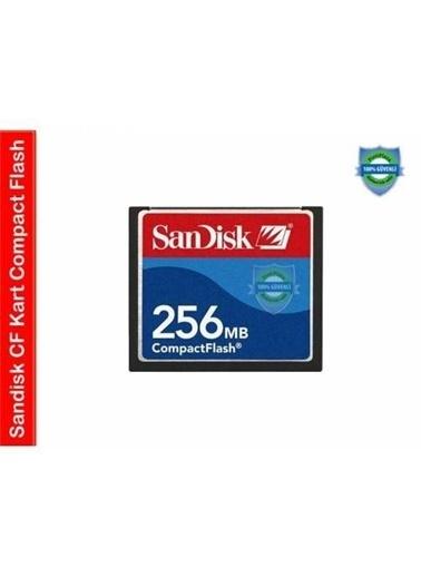 SanDisk 256 Mb Cf Compack Flash Kart Renkli